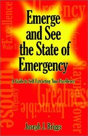 Cover of: Emerge and See the State of Emergency | Joseph J. Briggs
