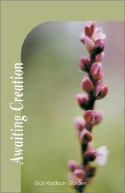 Cover of: Awaiting Creation
