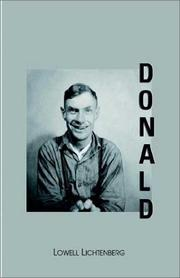Cover of: Donald