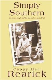 Cover of: Simply Southern