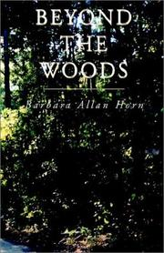 Cover of: Beyond the Woods