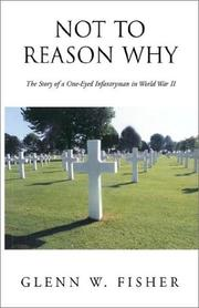Cover of: Not to reason why