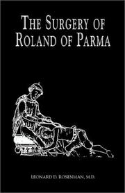 Cover of: The Surgery of Roland of Parma