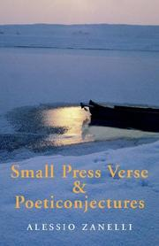 Cover of: Small Press Verse & Poeticonjectures