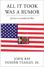 Cover of: All It Took Was a Rumor