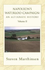 Cover of: Napoleon's Waterloo Campaign