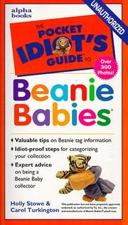 Cover of: The pocket idiot's guide to beanie babies