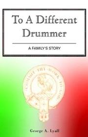 Cover of: To a Different Drummer