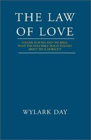 Cover of: The Law of Love