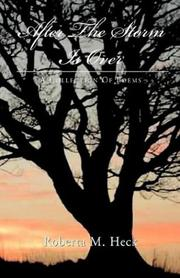 Cover of: After The Storm Is Over