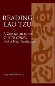 Cover of: Reading Lao Tzu