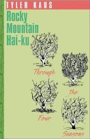 Cover of: Rocky Mountain Hai-ku