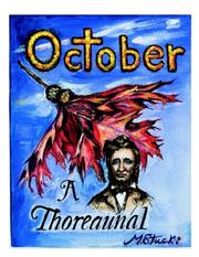 Cover of: October, or Autumnal Tints