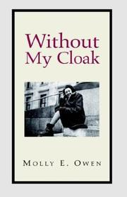 Cover of: Without My Cloak