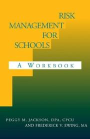 Cover of: Risk management for schools