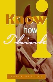 Cover of: Know How I Think