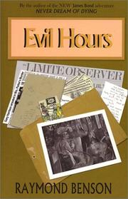 Cover of: Evil Hours