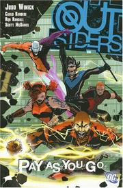 Cover of: Outsiders Vol. 6: Pay as You Go (Outsiders)