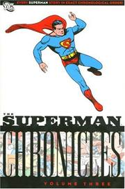 Cover of: Superman Chronicles, Vol. 3