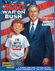Cover of: The Mad War on Bush (Mad)
