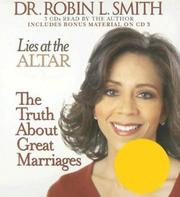 Lies at the altar by Robin L. Smith