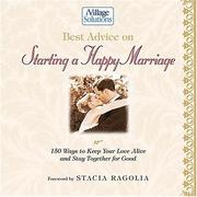 Cover of: Best Advice on Starting a Happy Marriage