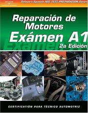 Cover of: ASE Test Prep Series -- Spanish Version, 2E (A1): Automotive Engine Repair (Delmar Learning's Ase Test Prep Series (Spanish Version))