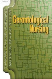Cover of: Thomson Delmar Learning's Nursing Review Series
