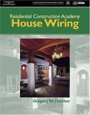 Cover of: Residential Construction Academy House Wiring (Residential Construction Academy)