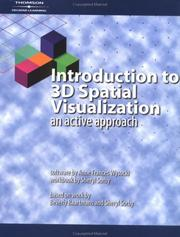 Cover of: Introduction to 3D Spatial Visualization | Sheryl Sorby