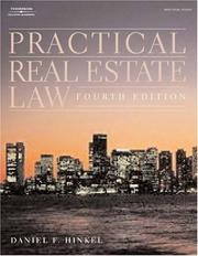 Practical real estate law by Daniel F. Hinkel