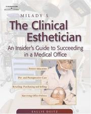Cover of: Milady's The Clinical Esthetician
