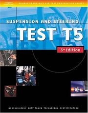 Cover of: ASE Medium/Heavy Duty Truck Test Prep Manuals, 3E T5