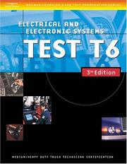 Cover of: ASE Medium/Heavy Duty Truck Test Prep Manuals, 3E T6