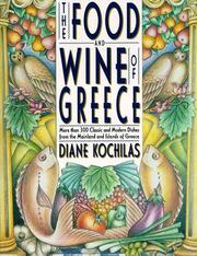 Cover of: The food and wine of Greece