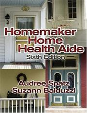 Cover of: Homemaker Home Health Aide (Homemaker/Home Health Aide) | Audree Spatz