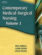 Cover of: Contemporary Medical-Surgical Nursing, Volume 1 | Rick Daniels