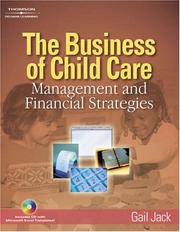 Cover of: The Business of Child Care