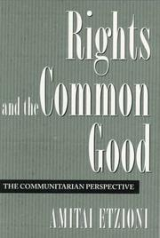 Cover of: Rights and the Common Good