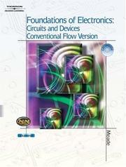 Cover of: Foundations of Electronics | Russell L. Meade