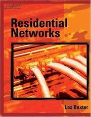 Cover of: Residential Networks