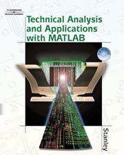 Cover of: Technical analysis and applications with MATLAB