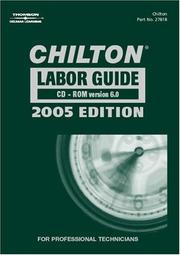 Chilton 2005 Labor Guide CD-ROM