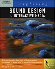 Cover of: Exploring Sound Design for Interactive Media (Design Exploration Series)