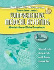 Cover of: Thomson Delmar Learning's Comprehensive Medical
