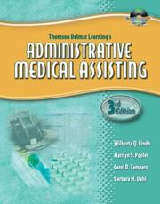 Cover of: Delmar's Administrative Medical Assisting Workbook