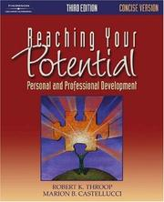 Cover of: Reaching Your Potential | Robert K. Throop
