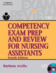 Competency exam prep & review for nursing assistants by Barbara Acello
