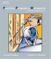 Cover of: Practical Problems in Mathematics for Electrician