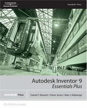 Cover of: Autodesk Inventor 9 essentials plus | Daniel T. Banach